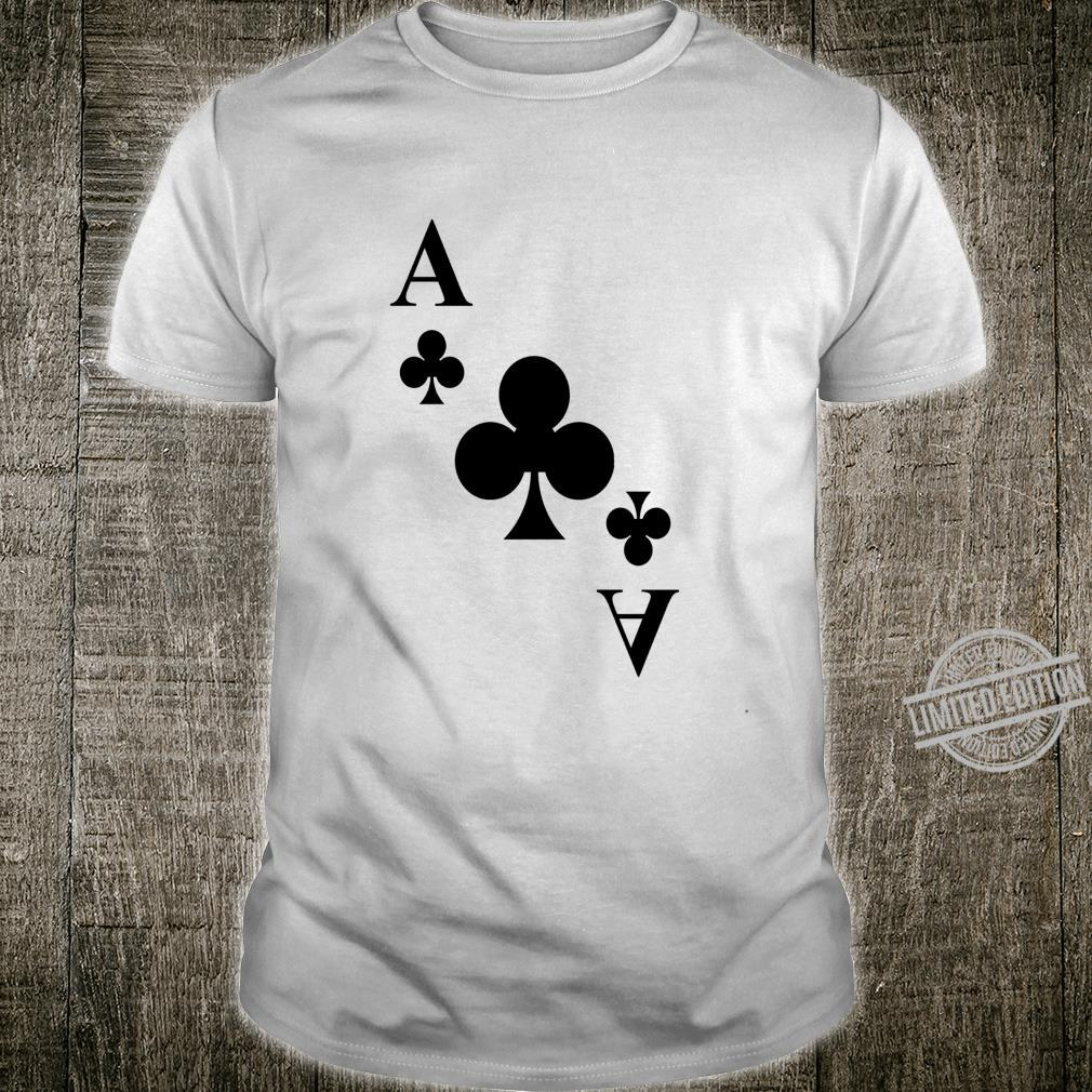 Karten Kartenspiel Karte Kreuz As Shirt Langarmshirt Shirt