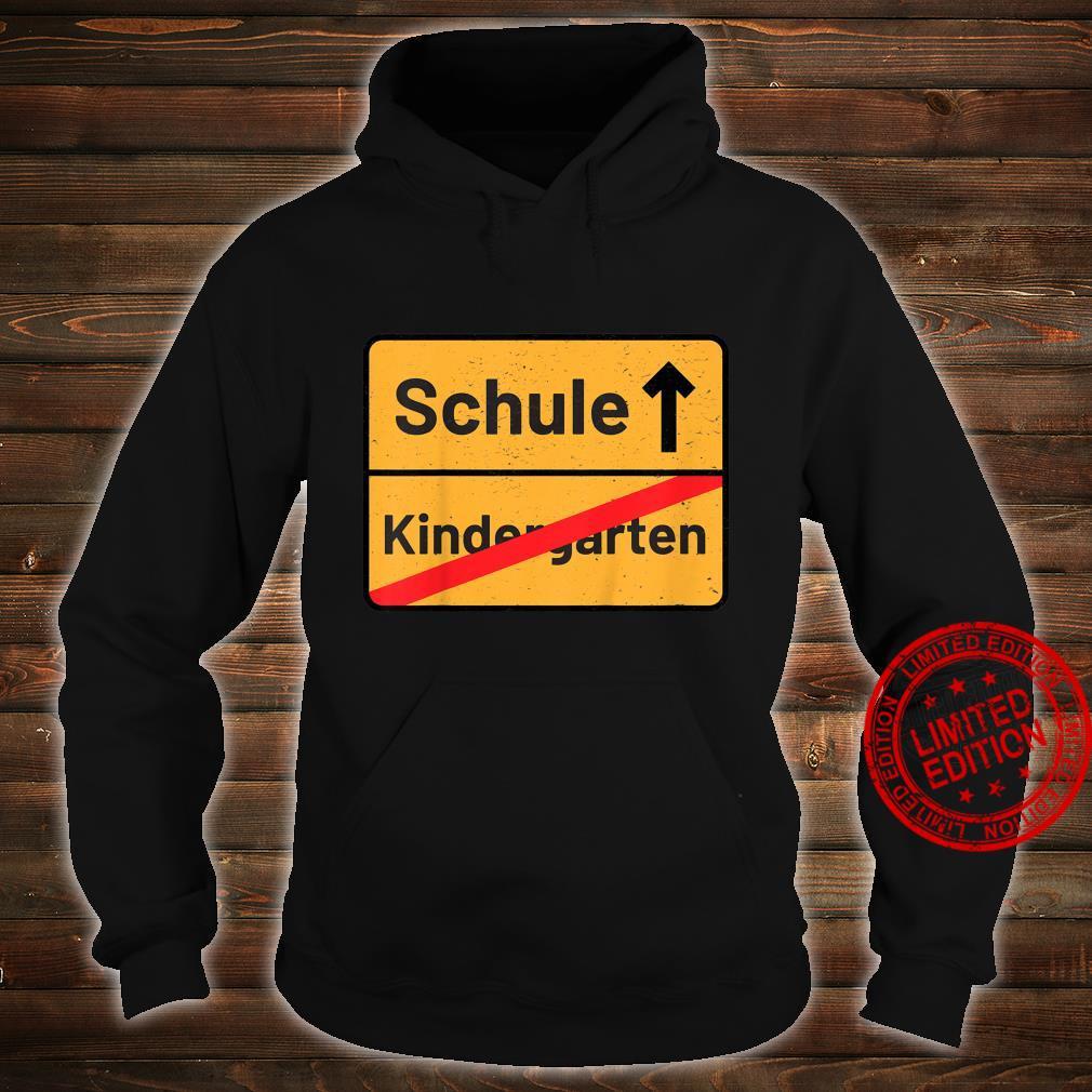 Kinder Tschüss Erste Klasse Schulbeginn Erstklässler Zuckertüte Shirt hoodie