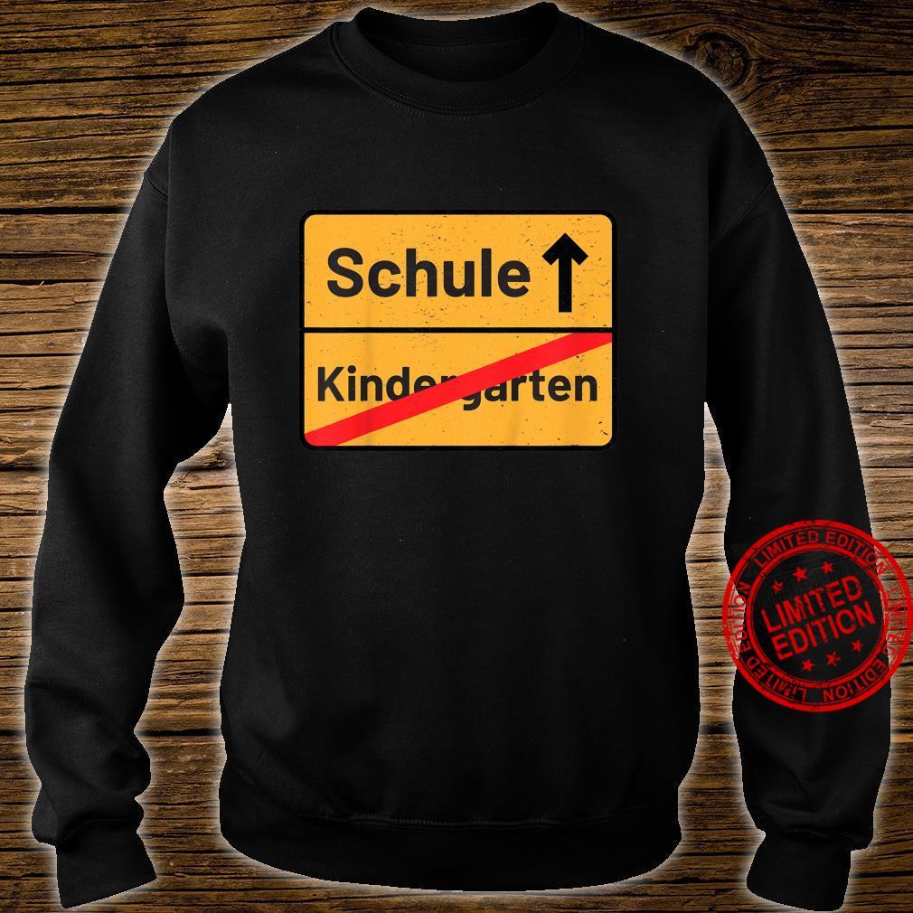 Kinder Tschüss Erste Klasse Schulbeginn Erstklässler Zuckertüte Shirt sweater