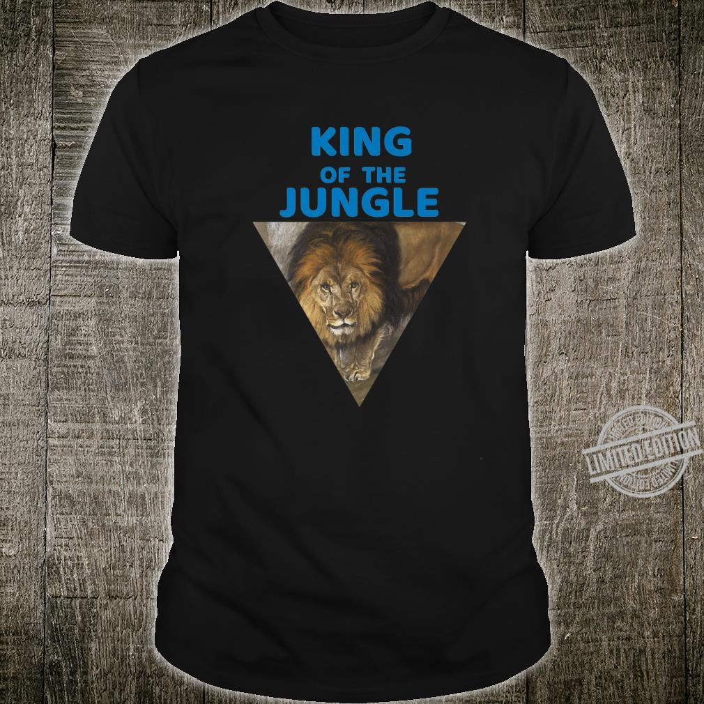 King Of The Jungle Lions Big Cat Designer Shirt