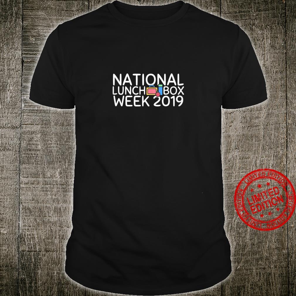 National School Lunch Week Shirt