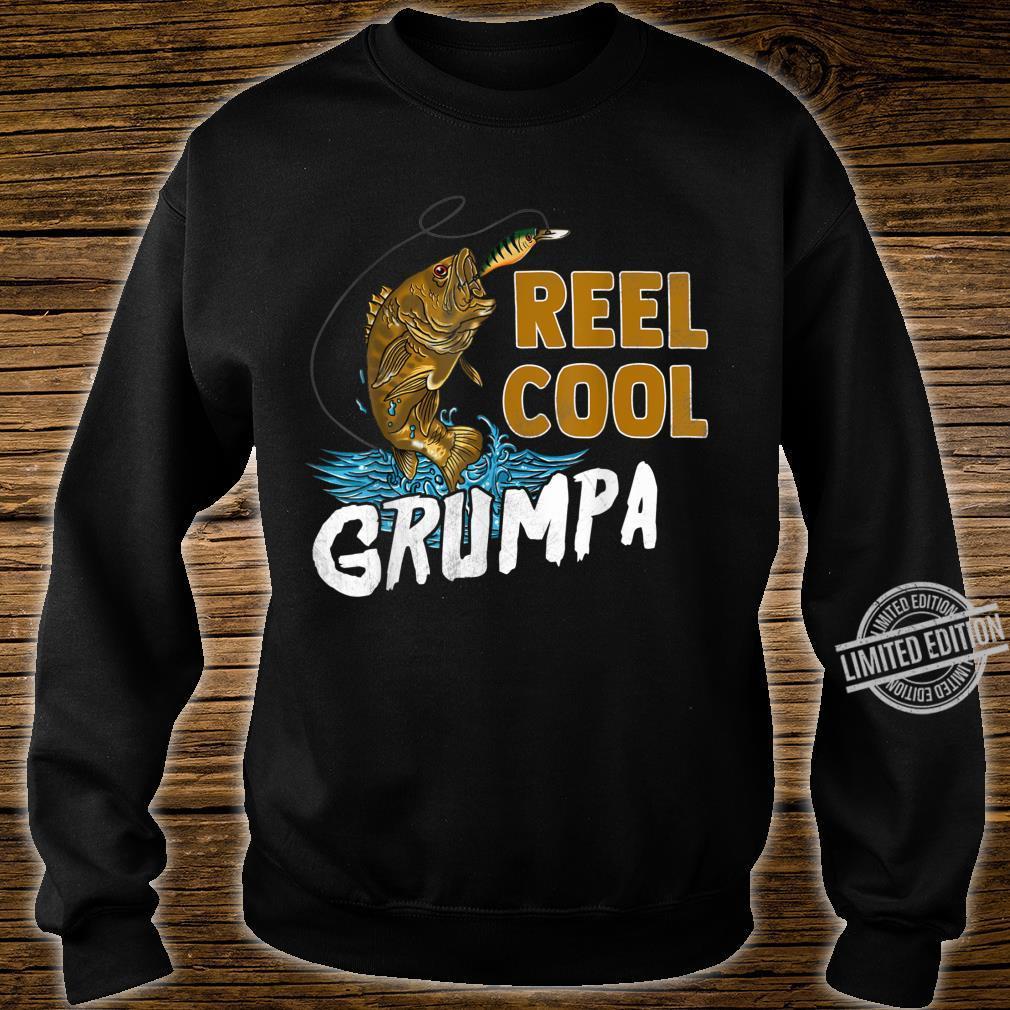 Reel Cool Grumpa Shirt Fishing Fathers Day Shirt sweater
