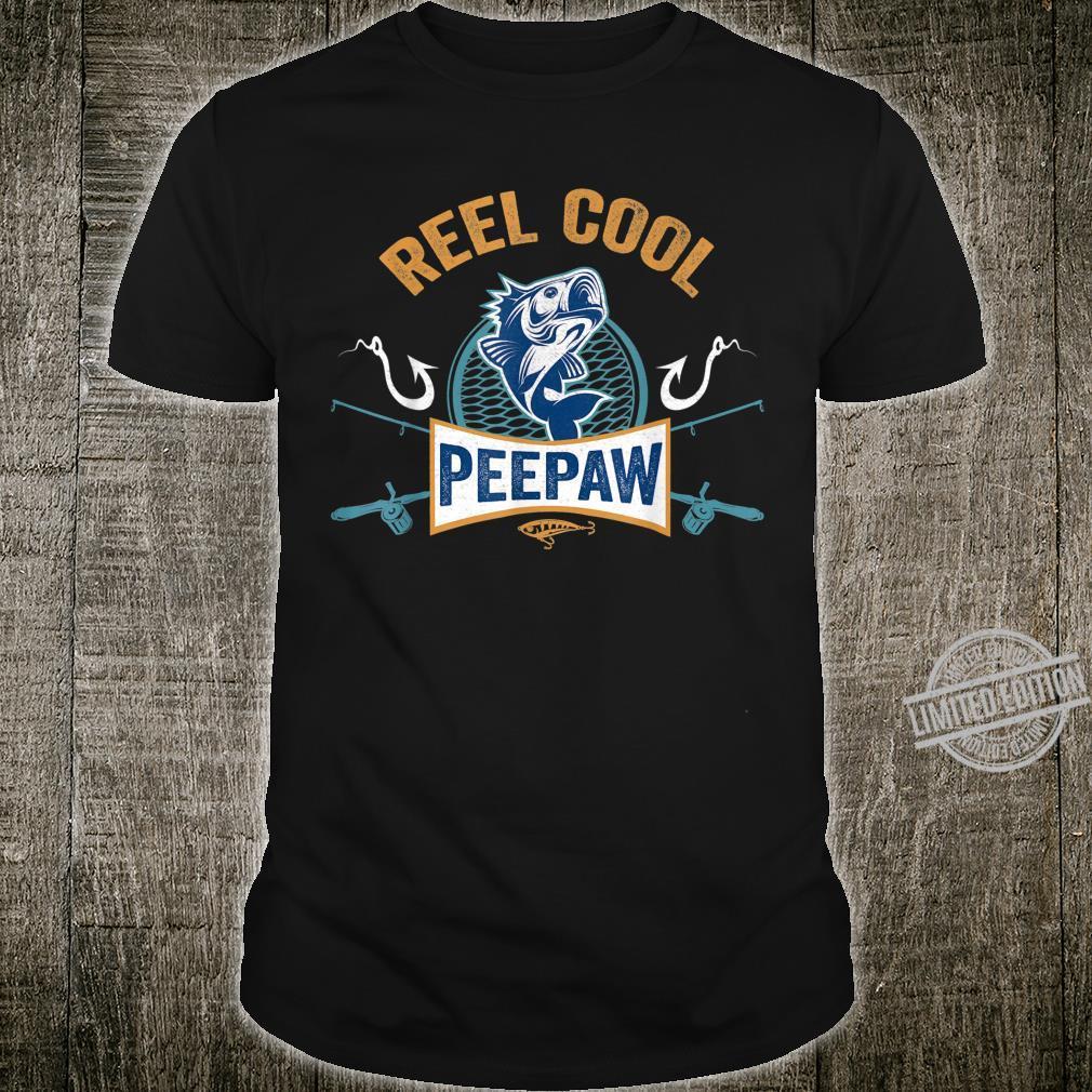 Reel Cool Peepaw Fishing Fathers Day Shirt