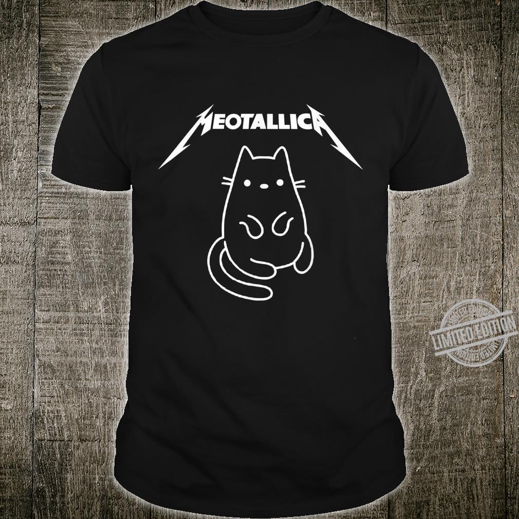 Retro Meowtallica Music Cute Cat's Love Costume Shirt