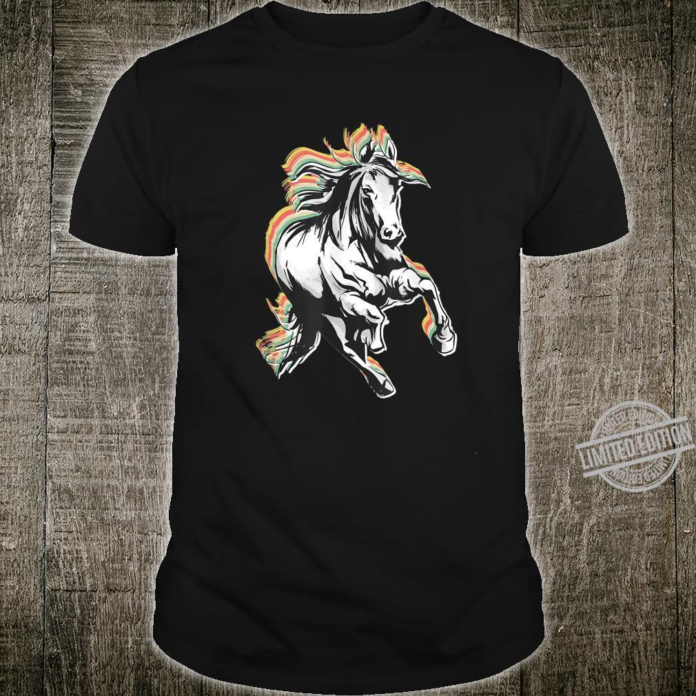 Retro Style Horse Shirt