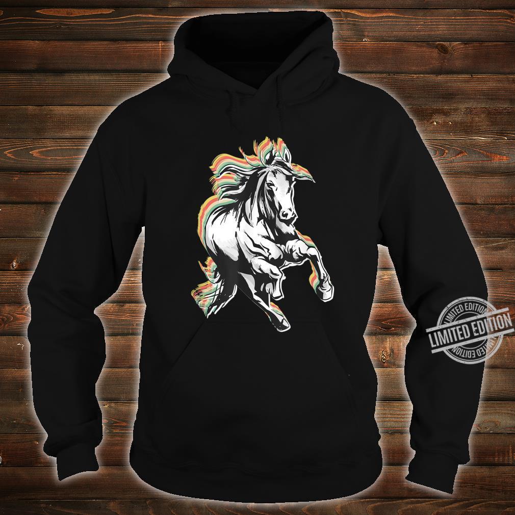 Retro Style Horse Shirt hoodie