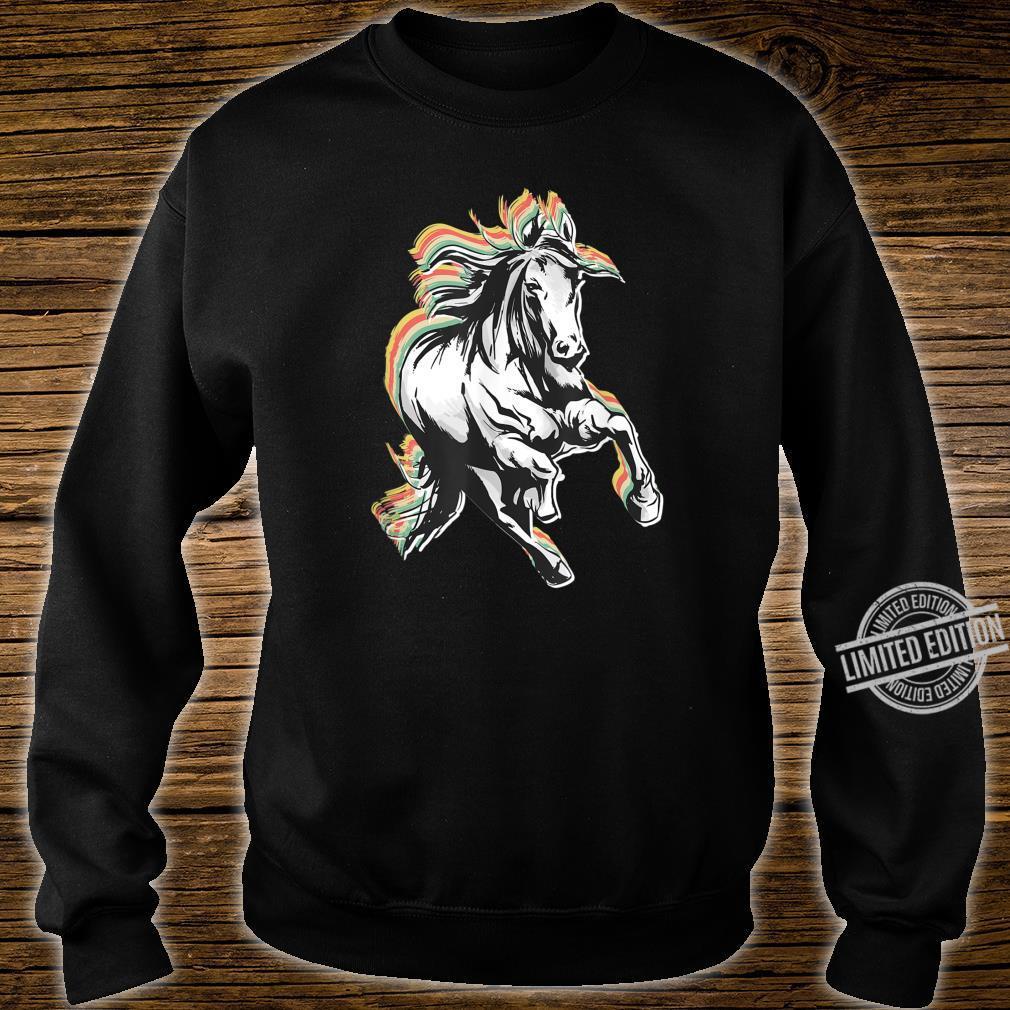 Retro Style Horse Shirt sweater
