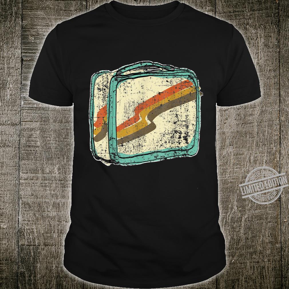 Retro Vintage Lunchbox Shirt Shirt