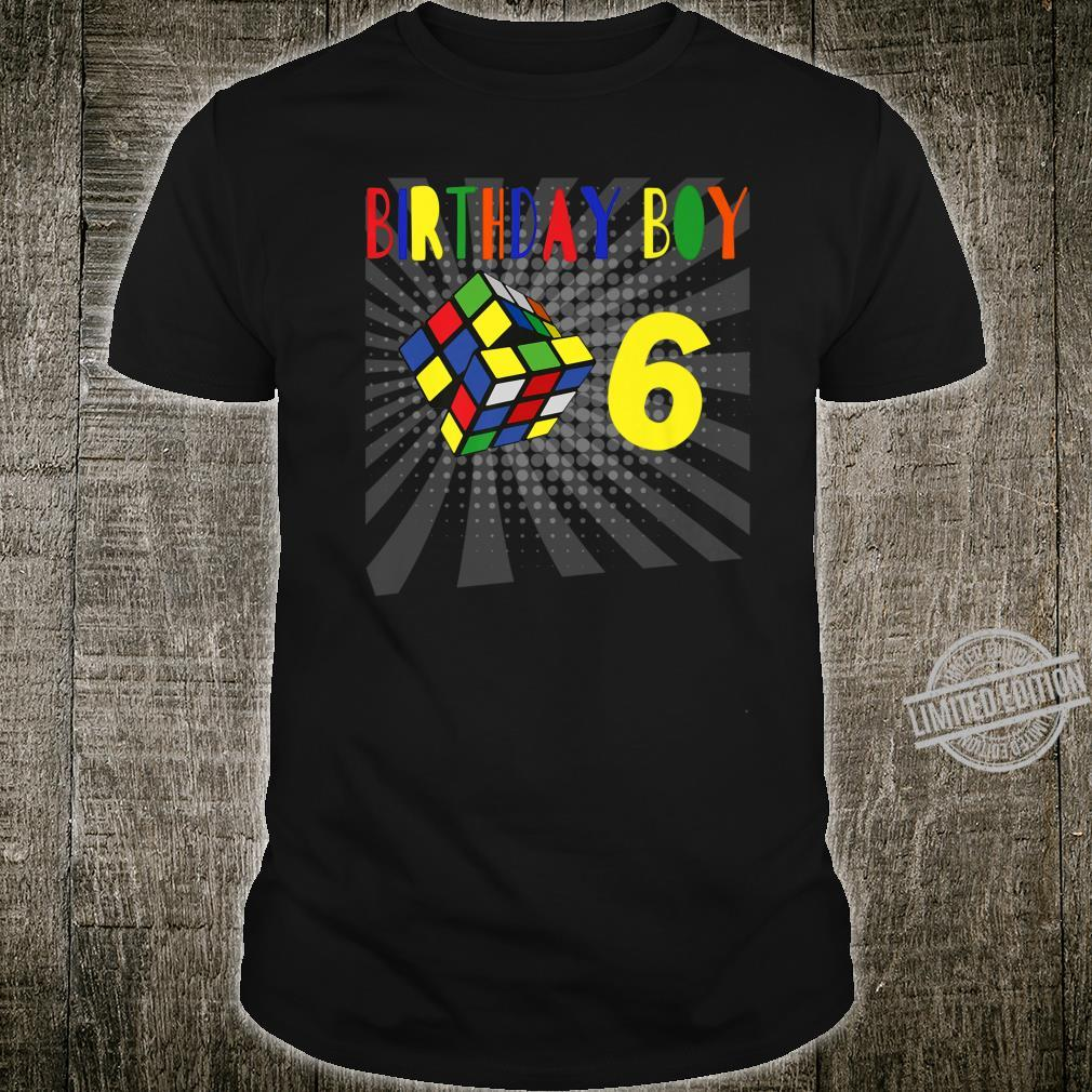 Rubik Cube 80s Birthday Party Retro Celebration Outfit Shirt