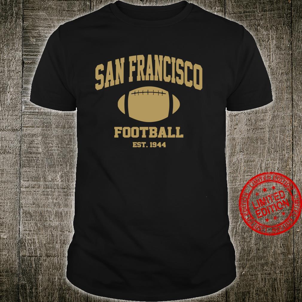 San Francisco Football SF Vintage Game day Shirt