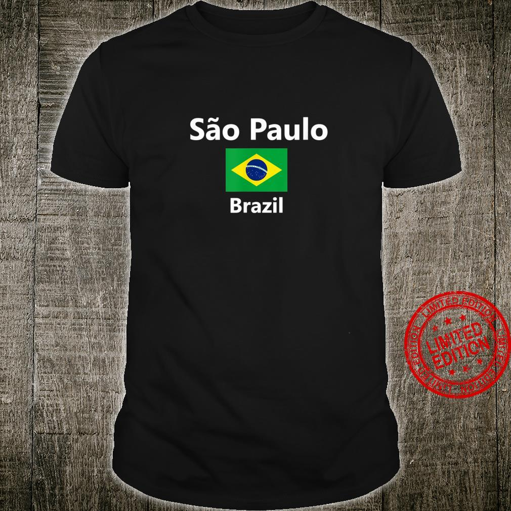 Sao Paulo Brazil City Flag Shirt
