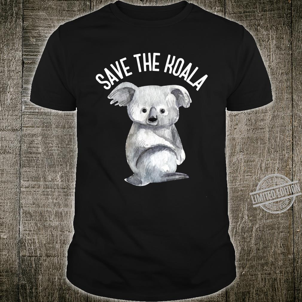 Save the Koalas Shirt Australia Animals Vintage Shirt