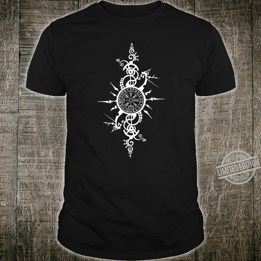 Seafarer Celtic Viking Compass Vegvisir Rune Nordic Symbol Shirt