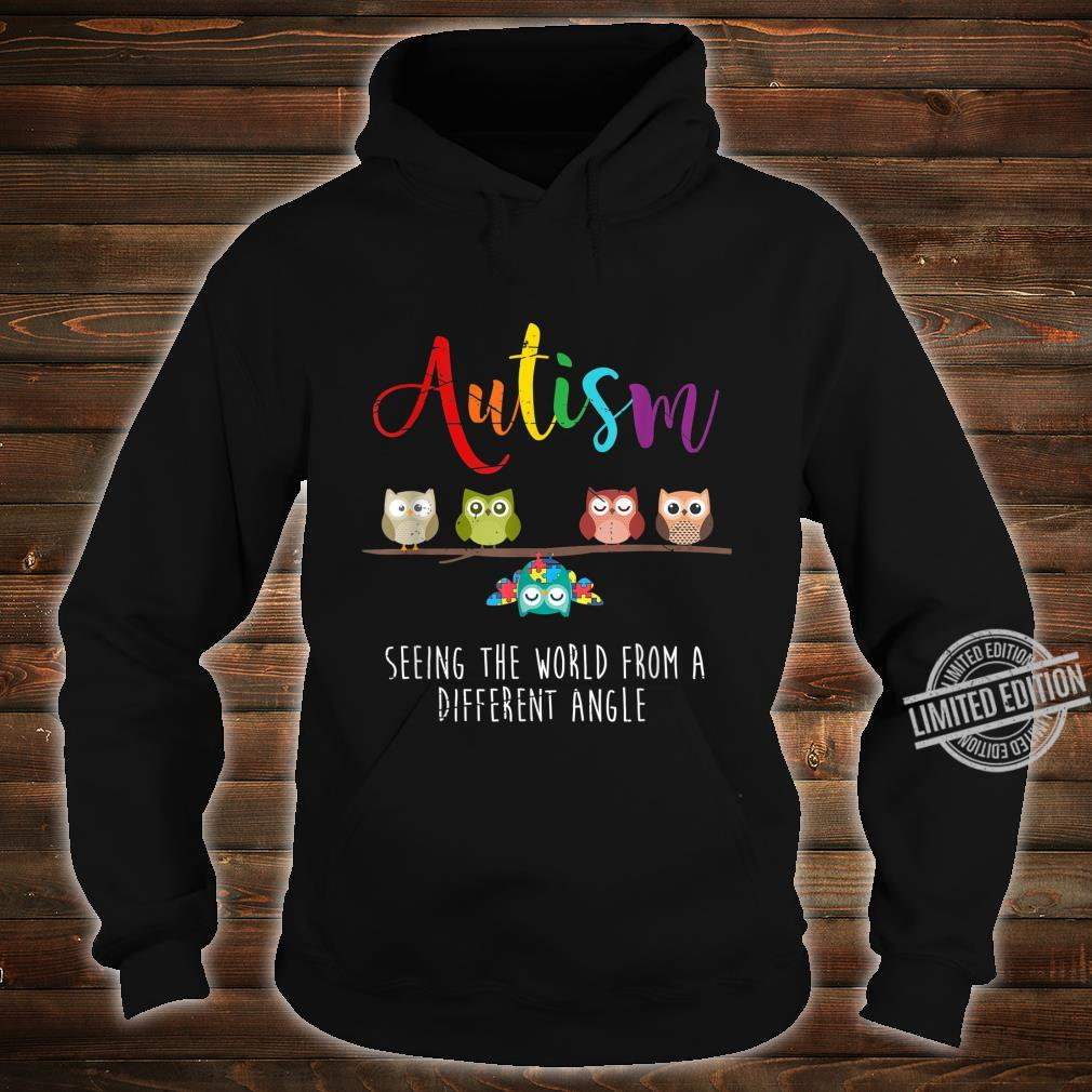 Seeing The World From A Different Angle Autism Shirt hoodie