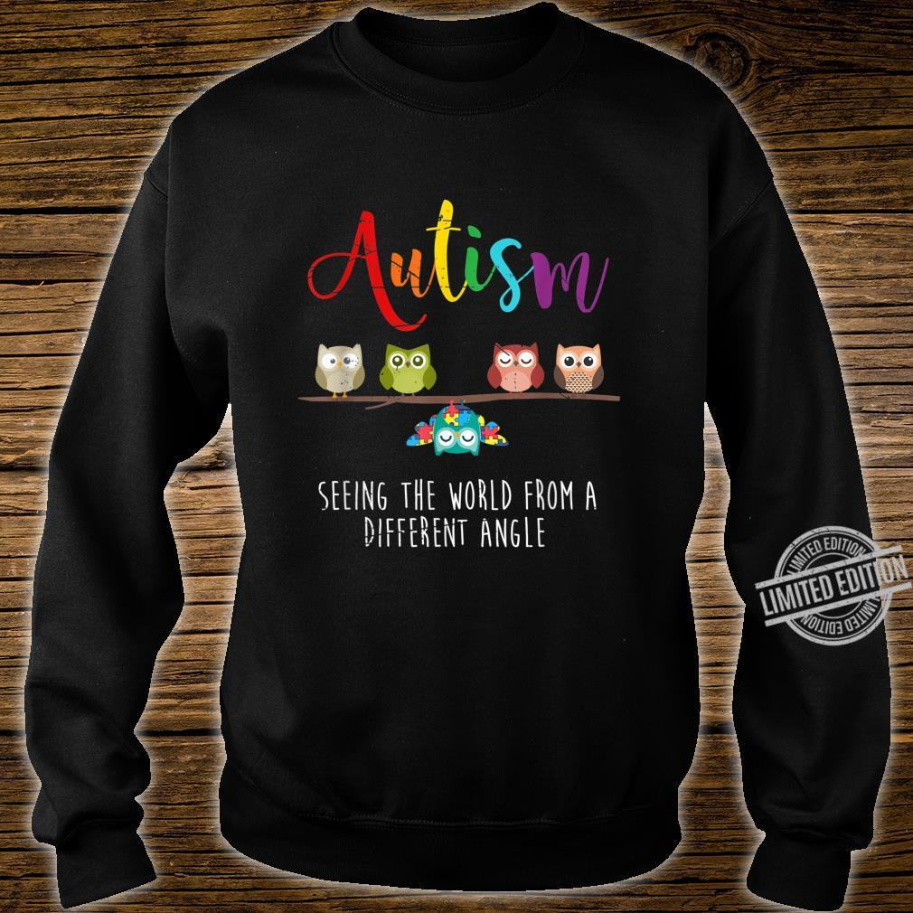 Seeing The World From A Different Angle Autism Shirt sweater