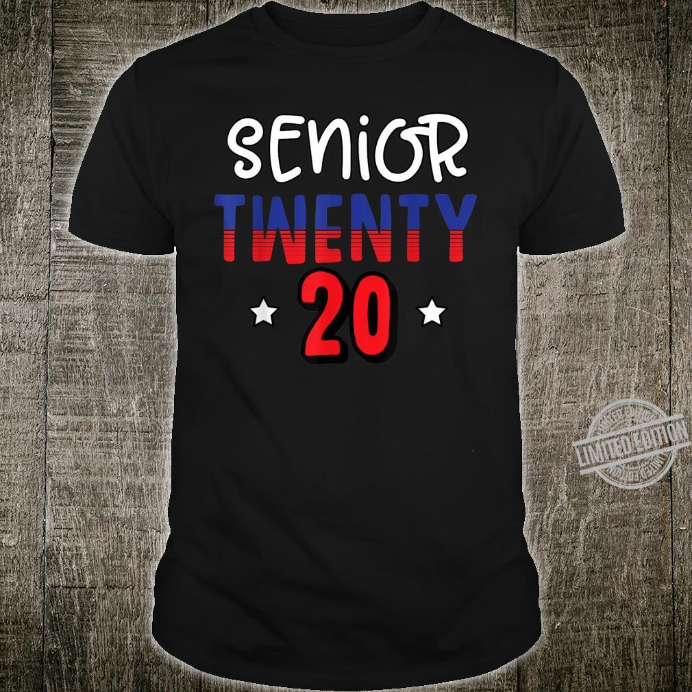 Senior Twenty 20 Graduate Senior 2020 Pride in growth Shirt