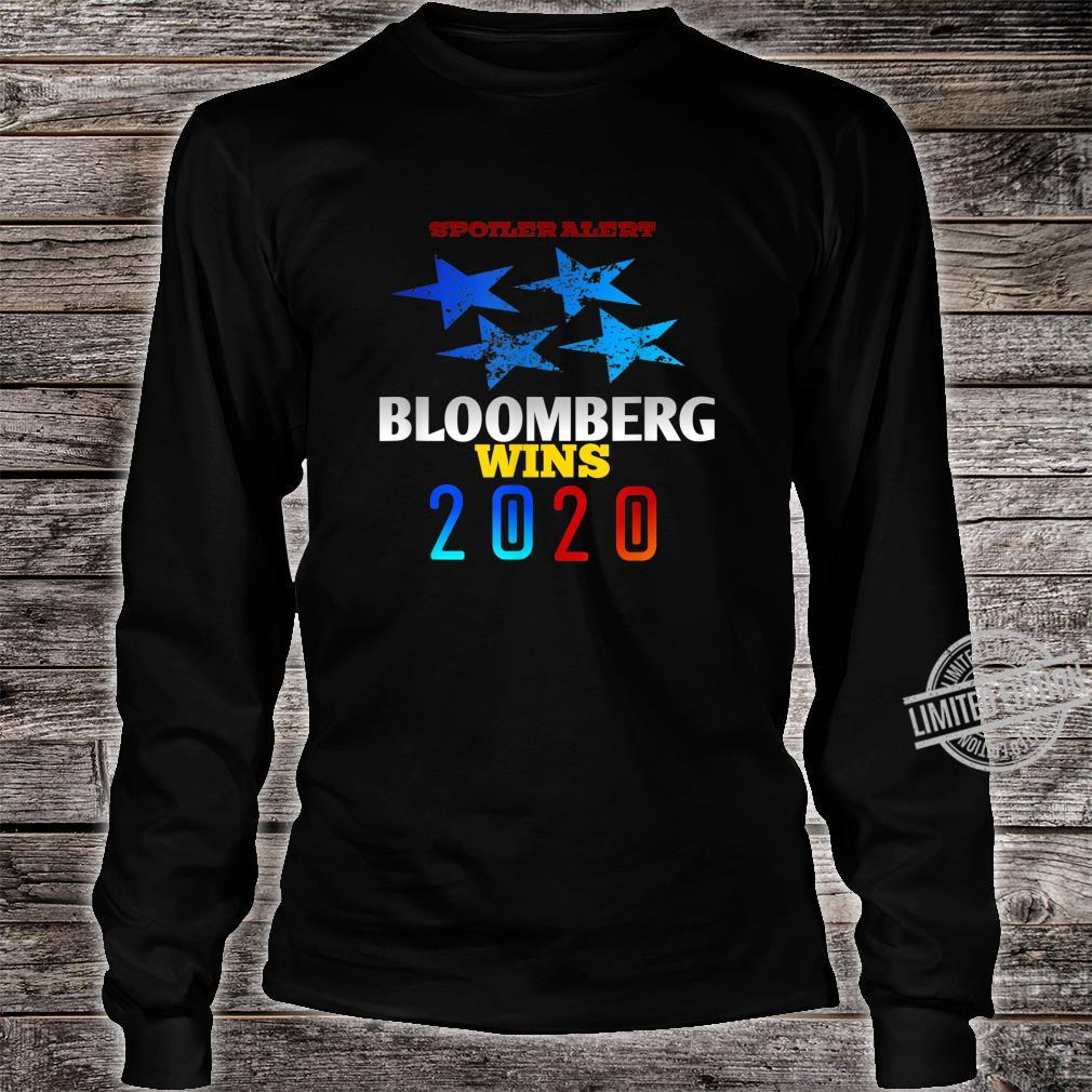 Spoiler alert Bloomberg wins 2020 Democratic Party Election Shirt long sleeved