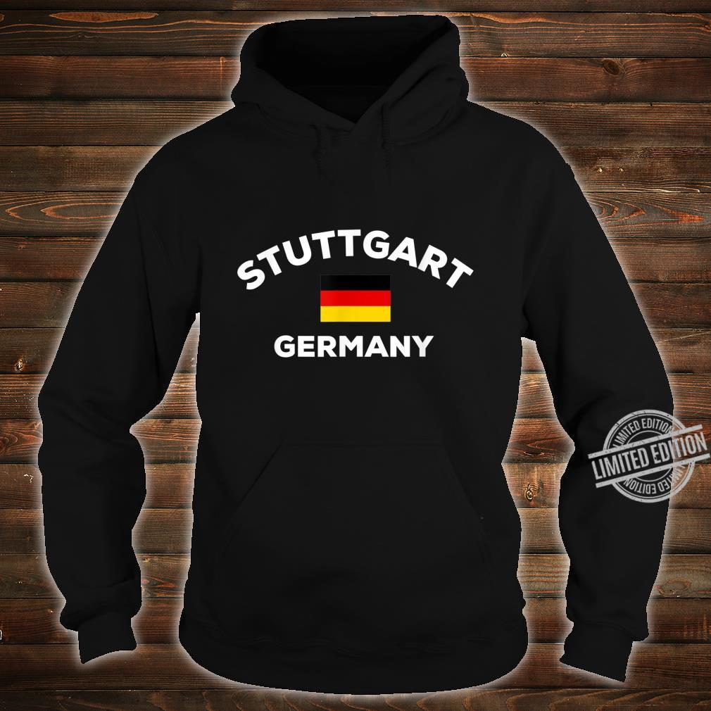 Stuttgart Deutschland Deutsche Flagge Stadt Shirt hoodie