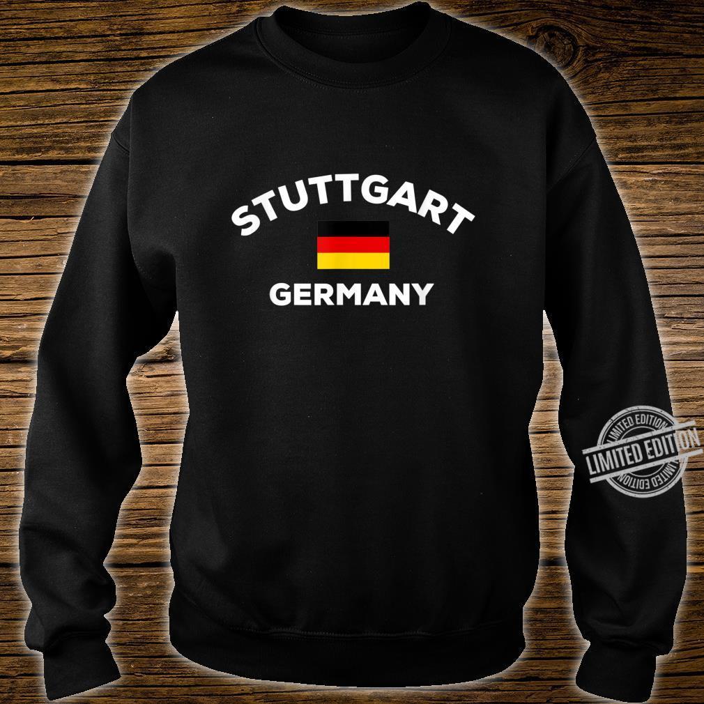 Stuttgart Deutschland Deutsche Flagge Stadt Shirt sweater