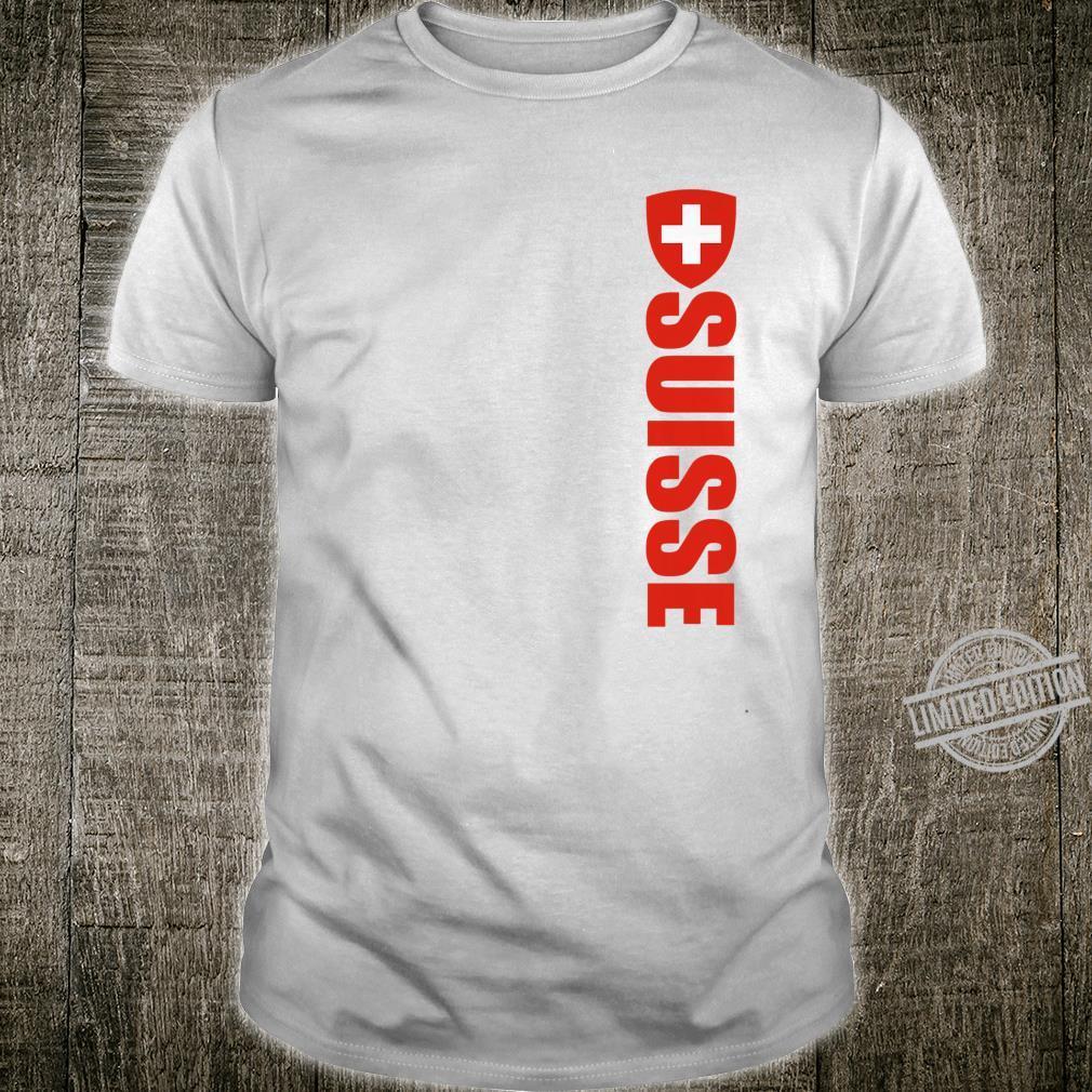 Swiss Flag Of Switzerland Souvenir Schweizer Svizzera Shirt