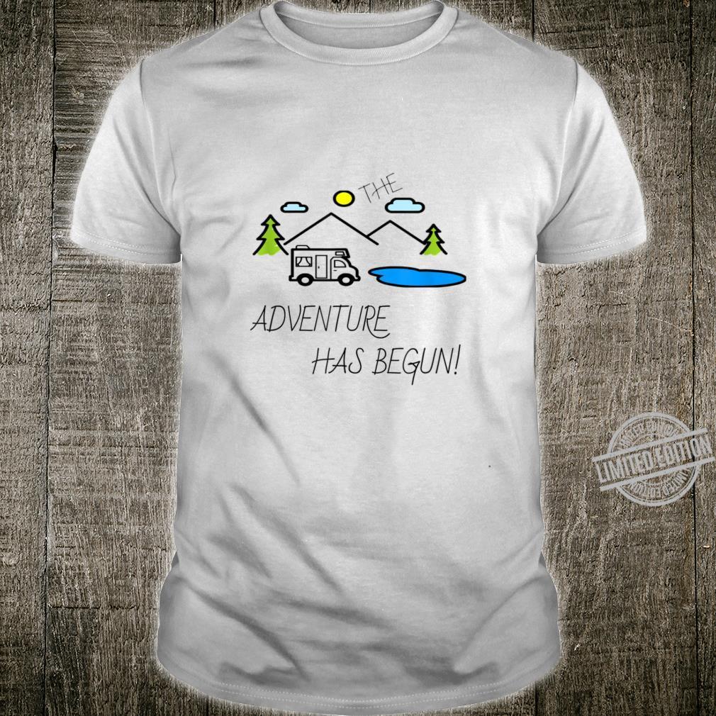 The Adventure Has Begun Shirt