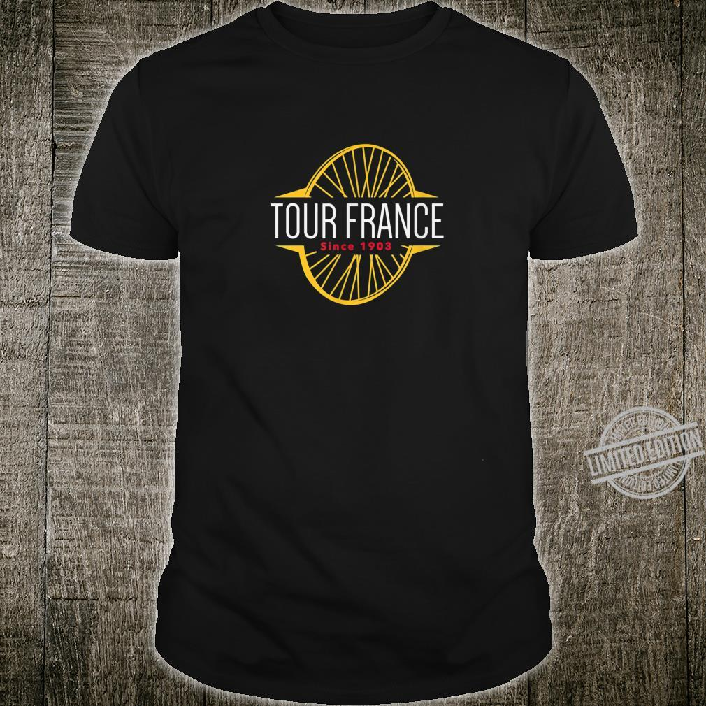 Tour France Cycling French jersey Bikes Shirt