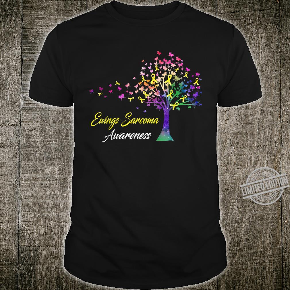 Tree Ribbon Ewings Sarcoma Awareness Shirt