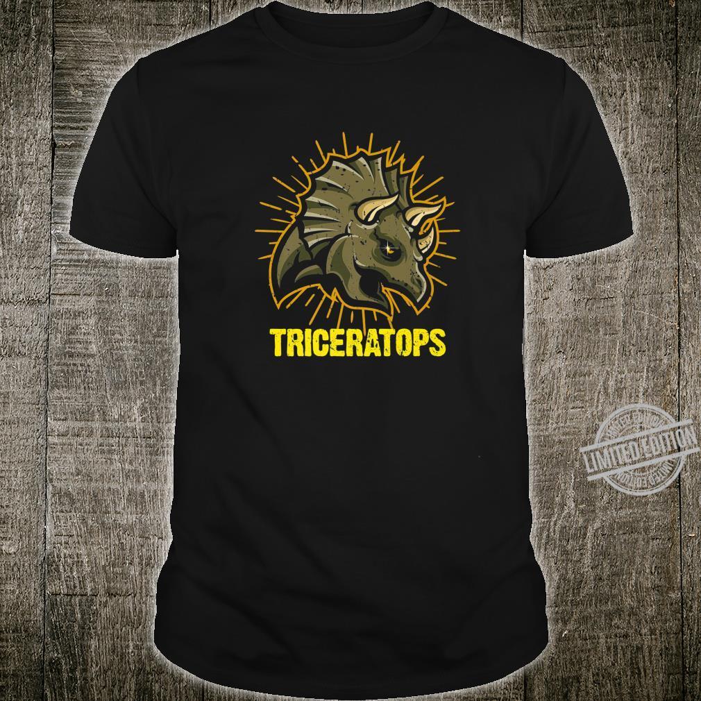 Triceratops Paleontologists Dinos Dinosaur Shirt