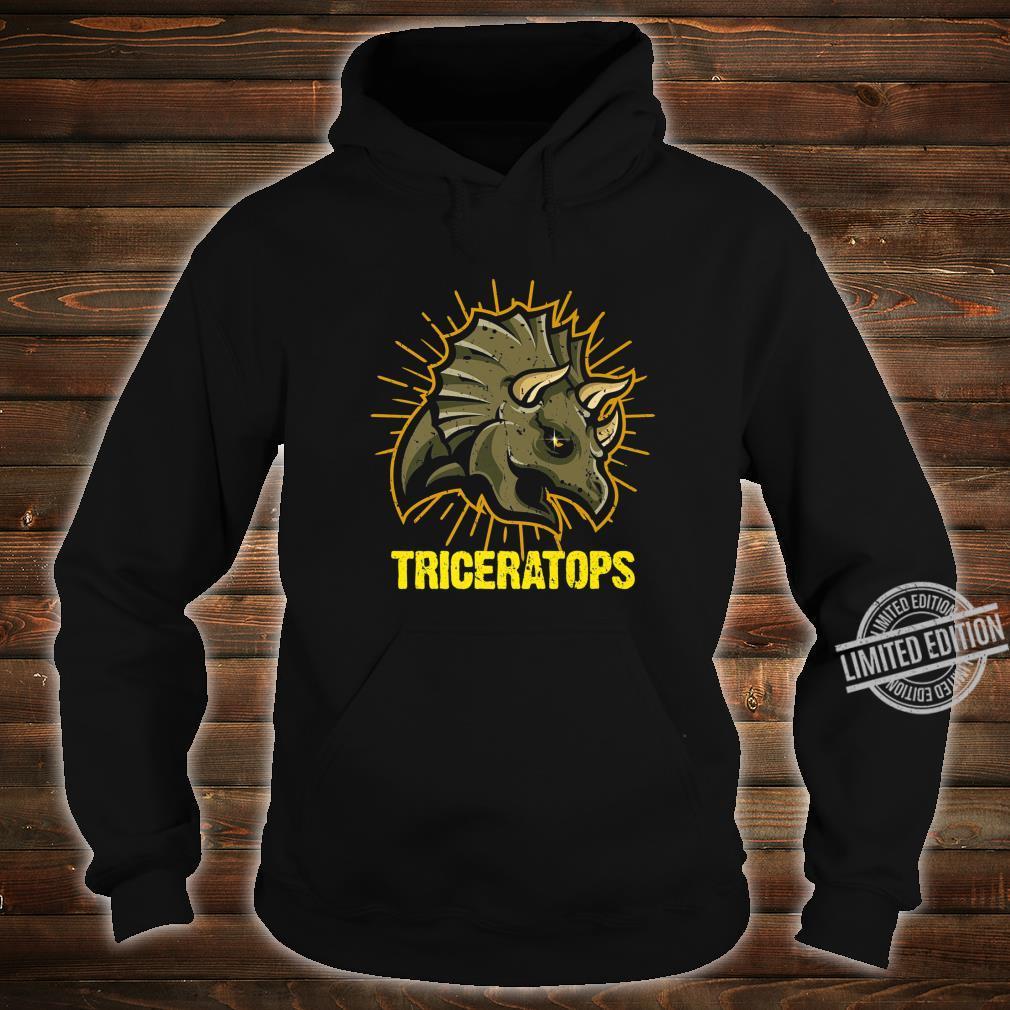 Triceratops Paleontologists Dinos Dinosaur Shirt hoodie