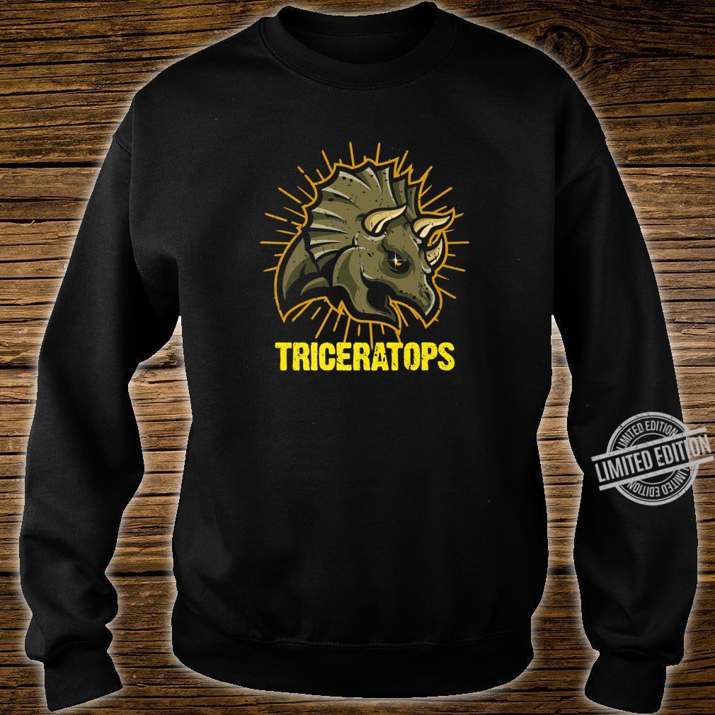 Triceratops Paleontologists Dinos Dinosaur Shirt sweater