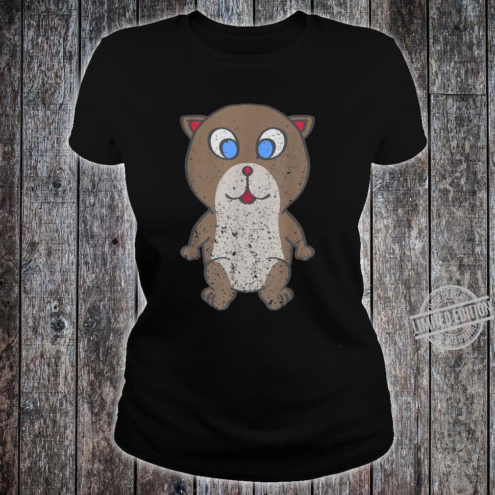Vintage Otter Fans Geschenk Shirt ladies tee