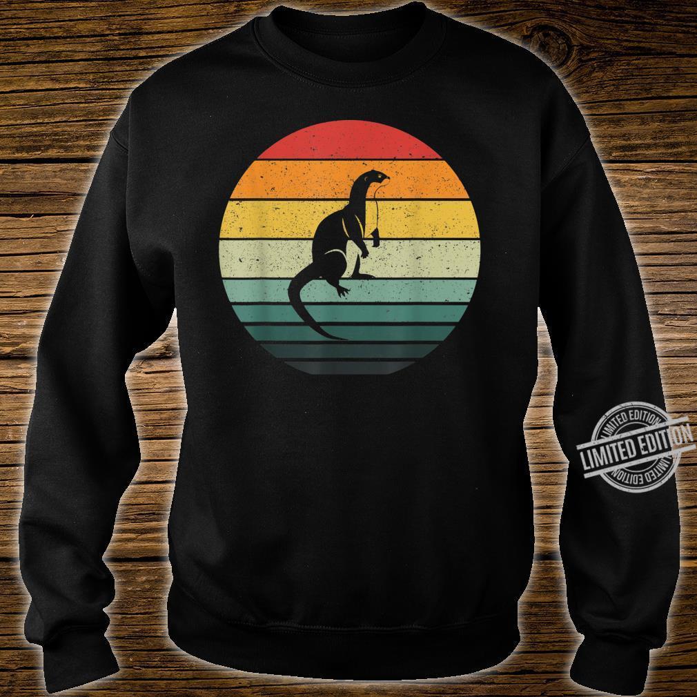 Vintage Retro Sunset Otter Shirt sweater