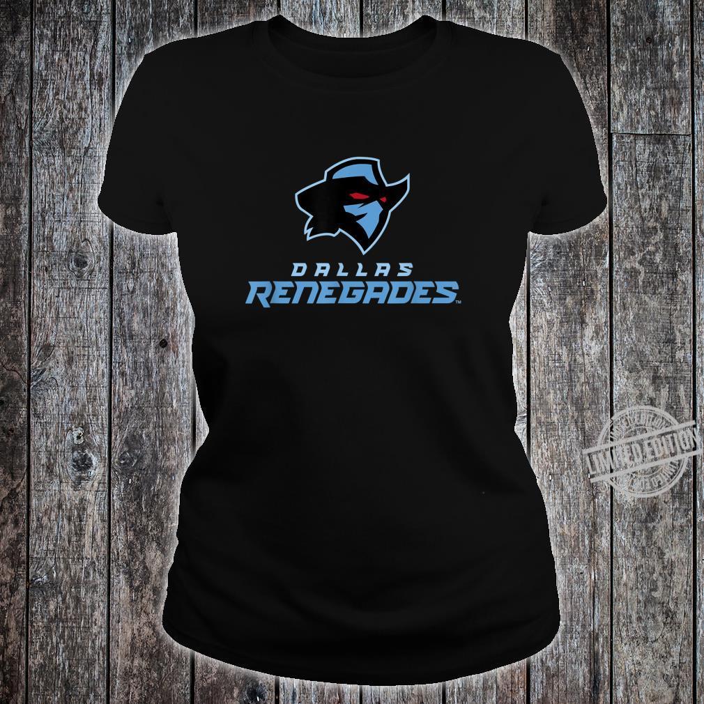 VintageDallasFootballSeason2020Renegades Shirt ladies tee