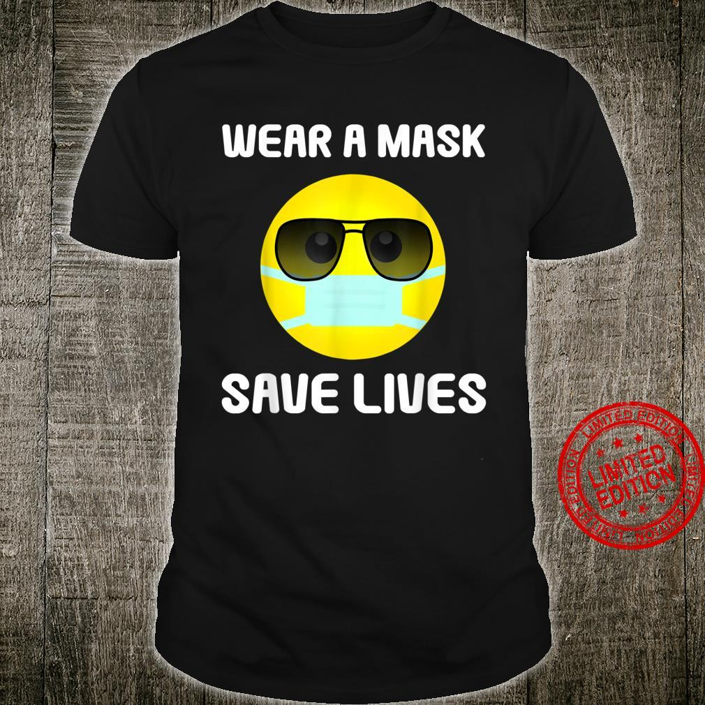 Wear A Mask & Save Lives Social Distancing Shirt