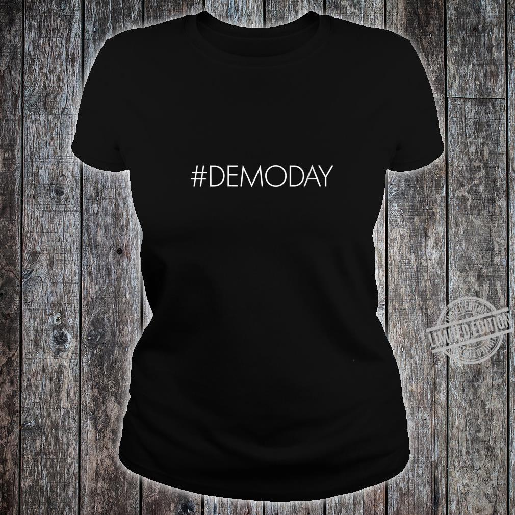 Womens Demo Day Hashtag Demoday House Flipper Fixer Shirt ladies tee