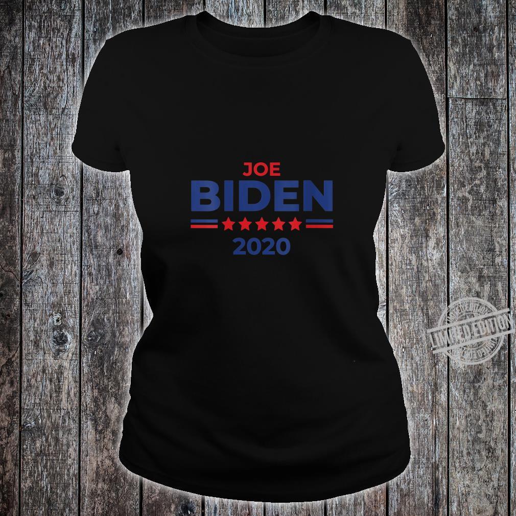 Womens Democrat Joe Biden 2020 Campaign Shirt ladies tee